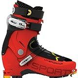 Scarpa Men's Mont Blanc Pro GTX Mountaineering Boot Orange w/ Darn Tough Sock – 41.5