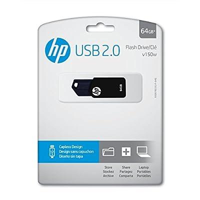 HP v150w 64GB USB 2.0 Flash Drive - P-FD64GHP150-GE