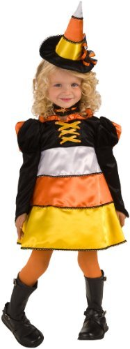 Candy Corn Witch Costume Size Toddler 1-2 years - 884699