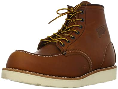 """Red Wing Heritage Men's 6"""" Moc Toe Boot, Oro-Legacy, 7 M US"""