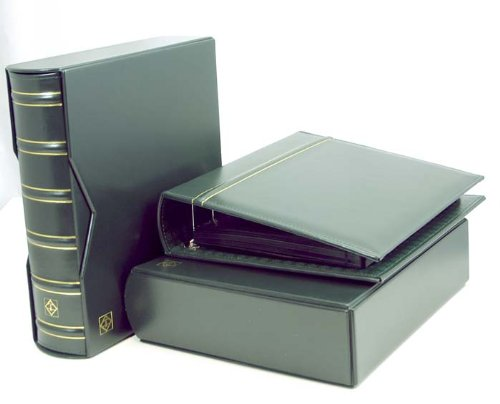 Lighthouse Vario-G Classic Binders with Slipcases, Hunter Green, Set of 2