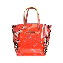 Dooney & Bourke Highland Small Windsor Shopper Tote Red