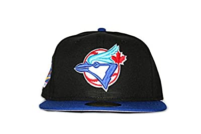 New Era Toronto Blue Jays World Series Fitted Cap 1993 Gray Bottom
