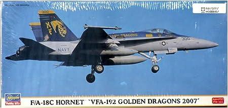 Maquette avion: F/A-18C Hornet VFA-192 Golden Dragons 2007