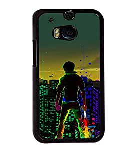 printtech Hero Kid Save City Back Case Cover for Huawei Honor 7