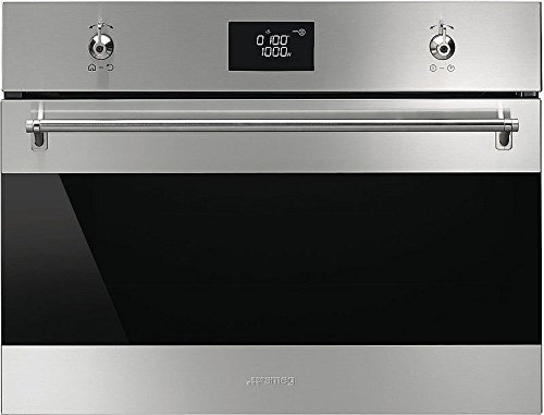 Smeg SF4390MCX Microwave Classic Built-In Combination