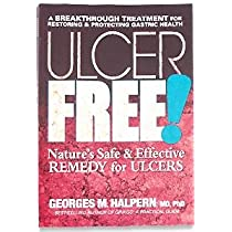 Books Ulcer Free, 196 Page Paperback Book by ClubNatural