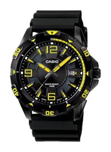 Casio Men's Analogue Watch MTD-1065B-1A2VEF With Resin Strap