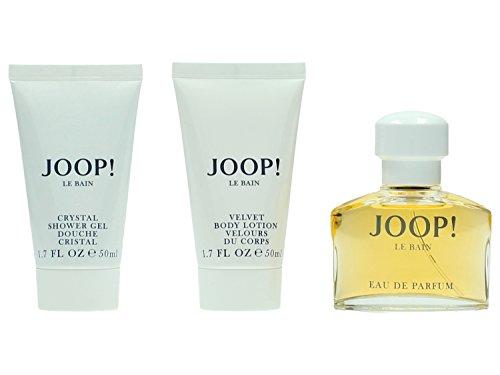 Joop! JOOP! LE Bain Set Regalo Eau de Parfum 40 ml, Lozione Corpo 50 ml e Gel Doccia 50 ml, Donna, 140 ml
