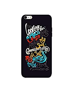 Mott2 Typography Pattern Back Cover Design for Apple iPod Touch 6th Gen. - Bi... (Limited Time Offers,Please Check the Details Below)