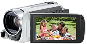 Canon デジタルビデオカメラ iVIS HF R42 ホワイト 光学32倍ズーム IVISHFR42WH