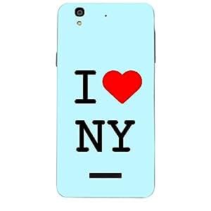 Skin4gadgets I love New York - NY Colour - Light Blue Phone Skin for YUREKA