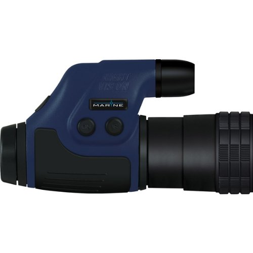 Night Owl Optics Nonmx4X-Mr Marine 4X Monocular (Nonmx4X-Mr) Binocular/Monocular Vision 24Mm Waterproof
