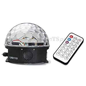 led crystal magic ball light manual