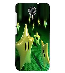 ColourCraft Funny Star Design Back Case Cover for MICROMAX CANVAS XPRESS 2 E313
