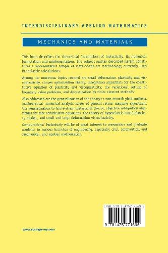 Computational Inelasticity: Volume 7 (Interdisciplinary Applied Mathematics)