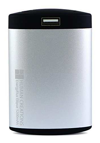 EnergyFlux Ellipse 5200mAh Silver/Black (Hand Warmer Electric compare prices)