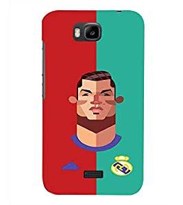 PRINTSHOPPII SPORTS FOOTBALL Back Case Cover for Huawei Honor Bee::Huawei Y5C