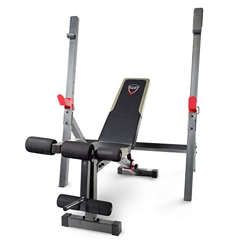 Cap Barbell Olympic Bench With Squat Rack 702556341872