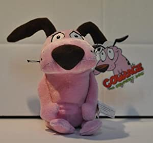 Courage The Cowardly Dog Soft Toy