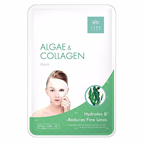 JUNE LILY Algae and Collagen Beauty Firming Moisturizing Facial Mask, 10 Count (Sold And Shipped By Amazon Only compare prices)