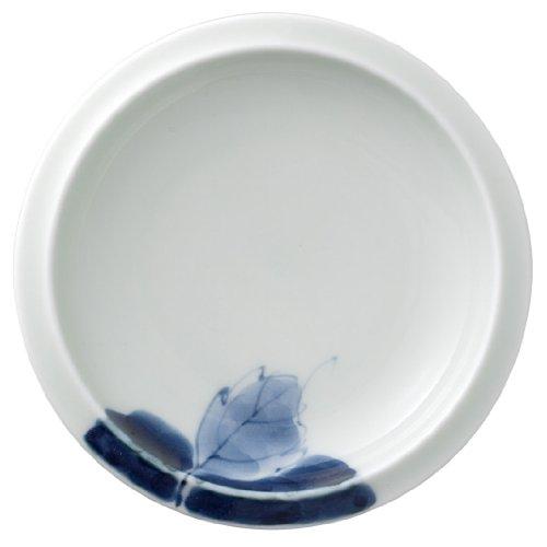 有田焼 匠の蔵 口福(こうふく)なお茶漬け碗シリーズ 小皿 藍花 T7213