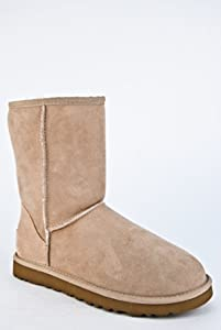 UGG Australia Classic Short Flat Winter Boot - Sand Size 5