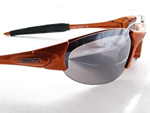 Oklahoma State Cowobys OSU Orange Rimless NCAA Sunglasses S1OR by Sports Accessory Store