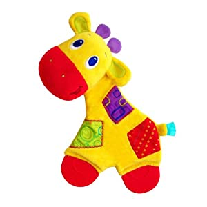 Bright Starts Snuggle Teether, Monkey/Giraffe/Elephant