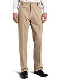 Dockers Men\'s Easy Khaki D3 Classic Fit Flat-Front Pant, British Khaki, 36x34