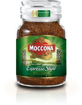 Moccona Freeze-Dried Coffee 100g (Imported from Australia) (Espressa Style (Bold & Intense))