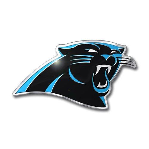 NFL Carolina Panthers Die Cut Color Automobile Emblem