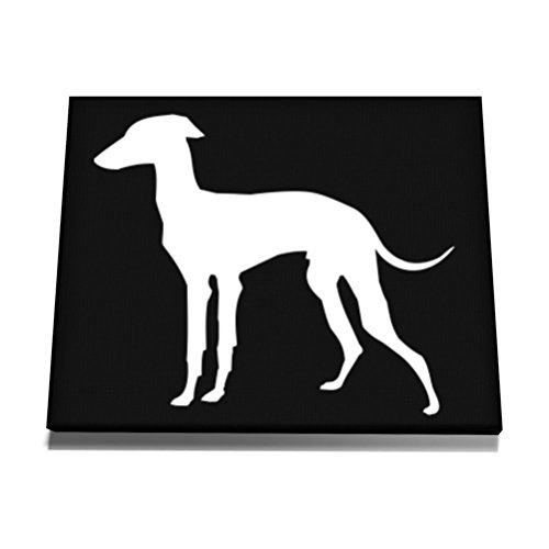 teeburon-italian-greyhound-silhouette-embroidery-tela-muro-arte-12-x-8-inch