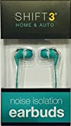 SHIFT3 Home   Auto Noise Isolation Earbuds  Teal  Torquoise