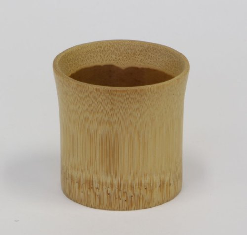 A Bamboo-Made Japanese Sake Cup,27209,Intricately Made Of Bamboos Produced In Japan.