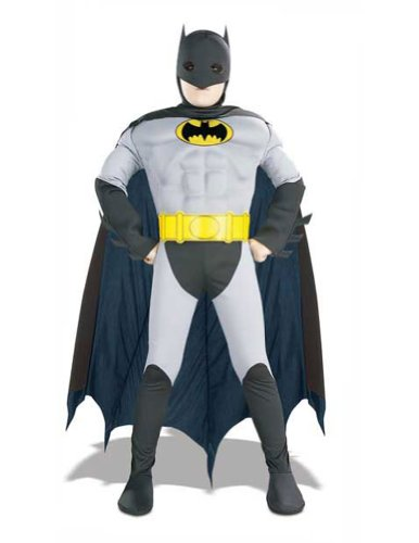 boys - Batman Muscle Chest Child Costume Md Halloween Costume