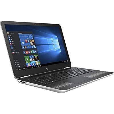 HP Pavilion 15-AU626TX 15.6-inch Laptop (7th Gen Core i7-7200U/16GB/2TB/Windows 10 Home/4GB Graphics), Natural Silver