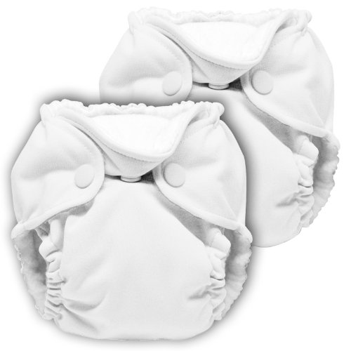 Lil Joey 2 Pack All-In-One Cloth Diaper, Fluff (All Lil compare prices)