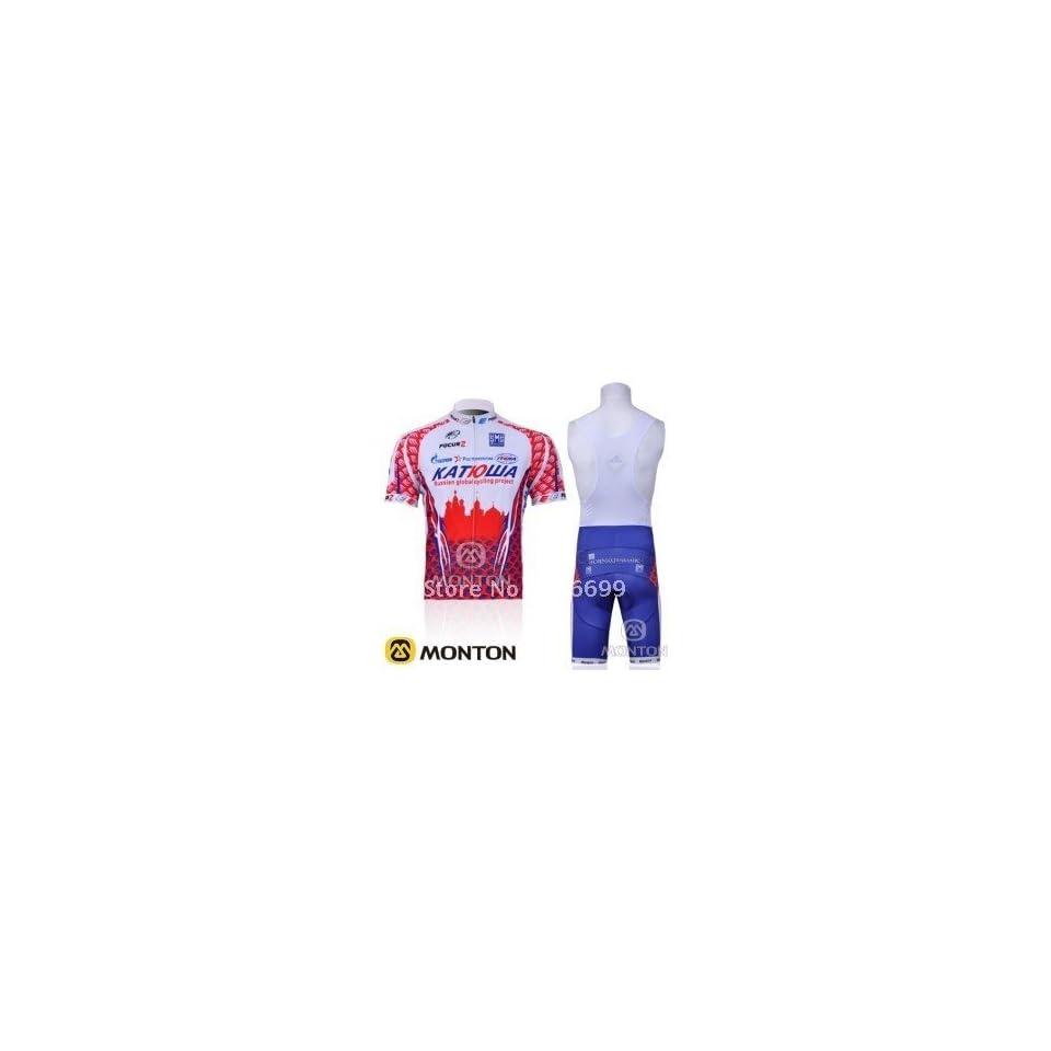 2011 katusha team cycling jersey+bib shorts size s xxxl on PopScreen f9c05f5d7