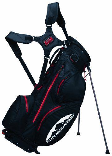 Sun Mountain H2Nos Men's Stand Bag - Black