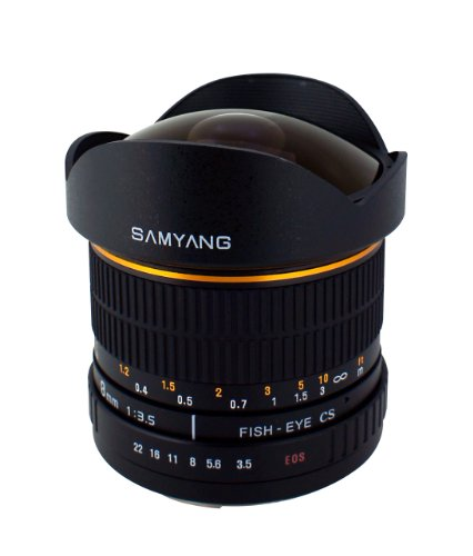 Samyang SY8M-S 8mm f3.5 Lens for Sony Alpha