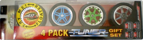 Fly Wheels 4 Pack Hot Rod Gift Set