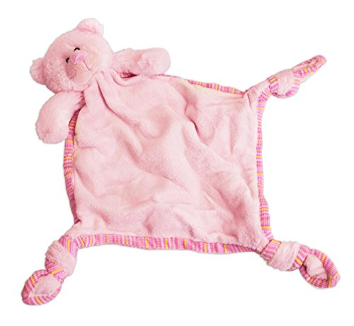 Russ Berrie My First Teddy Comforter Blankie, Pink - 1