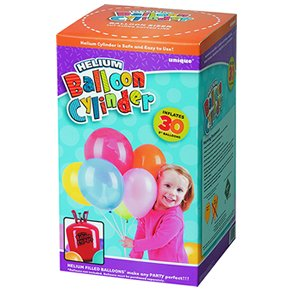 Helium Canister 30 Balloon Party Kit