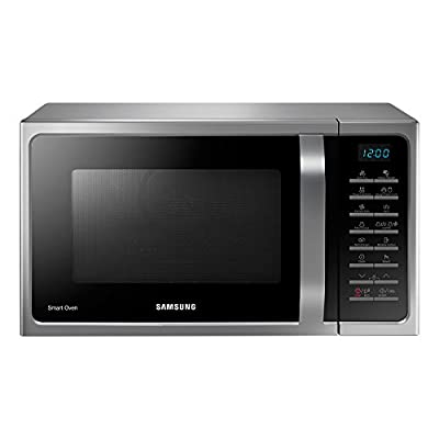 Samsung MC28H5025VS/TL 28-Litre 2900-Watt Convection MWO with Slim Fry Microwave Oven (Silver)