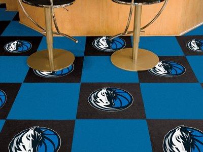"Dallas Mavericks NBA Carpet Tiles (18""x18"" tiles)"