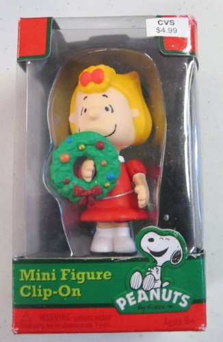 peanuts-sally-brown-christmas-clip-on-ornament