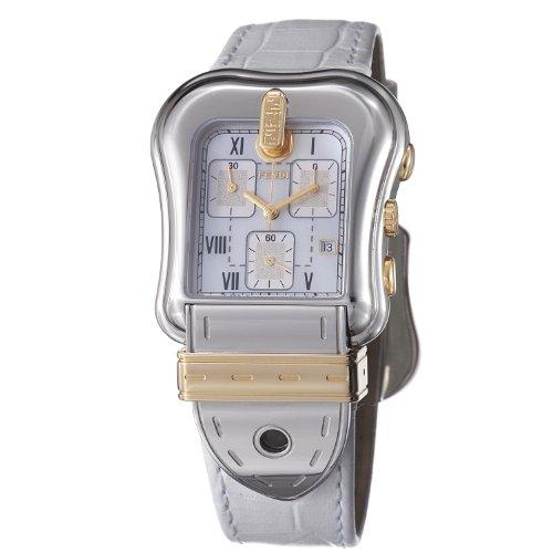 Fendi B. Fendi Mid-size Two Tone Chronograph Watch F392144