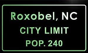 Amazon.com: t85715-g Roxobel town, NC City Limit Pop 240 Indoorroxobel town