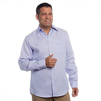 Mens long sleeve linen shirt.